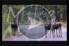 Camping with Mike Bogden, creator of the FlashLantern